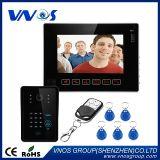 """9 """"ビデオドアの電話ドアベルの相互通信方式互換性のあるRFID Keyfobs CCTV"""