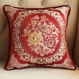 Cuscino decorativo dell'euro di manovella del quadrato del jacquard del Chenille del cuscino cuscino di scossa