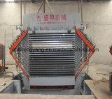 Melamin-lamellenförmig angeordnete Pappheiße Presse-Maschine
