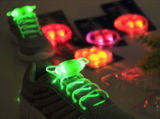 LED 점화 단화 레이스 번쩍이는 단화 레이스