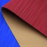 Matt-weich künstliches Chemiefasergewebe PUfaux-Leder für Schuh-Beutel