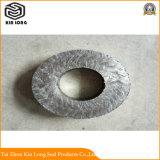 Anello di imballaggio flessibile della grafite usato per l'acqua calda di sigillamento, vapore surriscaldato, liquido di scambio di calore, soluzione dell'ammoniaca, idrocarburo, liquido di temperatura insufficiente