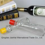 Bouteille de pétrole en verre de Kitcheware pour l'huile de sésame ou l'huile d'olive