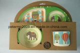 Eco freundliche und gesunde Bambusfaser scherzt Abendessen-Set
