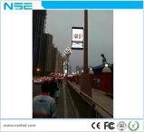 Waterdichte Straatlantaarn Pool die 3G Teken van Pool van de LEIDENE Banner van de Vertoning P6 het Openlucht adverteren