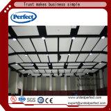 El panel de techo acústico de construcción del borde cuadrado verde de los materiales /Baffle