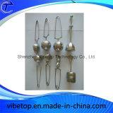 Setaccio a forma di di piegamento creativo del tè dell'acciaio inossidabile del cuore della maniglia