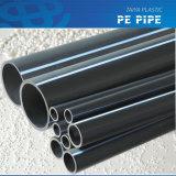 tubo nero dell'HDPE di colore di 100mm per il grado PE80 del rifornimento idrico