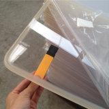 明確な、着色されたプレキシガラスシートは特定のサイズにカットした