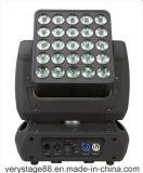 свет панели Maxtrix луча 25*10W 5X5 СИД Moving головной волшебный