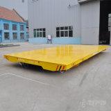 Acoplado sin rieles eléctrico móvil libre de la transferencia para el cargo pesado en suelo del cemento