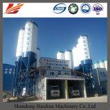 Zufuhrbehälter-Gesamtheit, die 75 M3/H konkrete Mischanlage für Verkauf führt