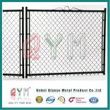 50*50mm 100*100mm Kettenlink-Zaun (galvanisiert und Kurbelgehäuse-Belüftung beschichtet)
