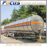 46000 galões Petrolum/combustível/gasolina/petróleo/transporte líquido do tanque reboque de alumínio Semi