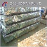 Toit ondulé enduit en métal de couleur de SGCC PPGI pour le matériau de construction