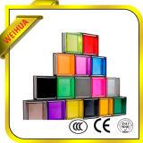 판매를 위한 색을 칠한 명확한 회색 88.3mm 박판으로 만들어진 유리 위원회