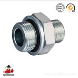 Ajustage de précision de tube hydraulique de noix droite d'émerillon (1CM-WD. 1DM-WD)
