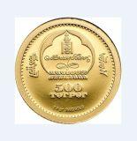 Moneta placcata oro luminoso su ordinazione per l'accumulazione (GZHY-YB-012)
