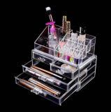 De in het groot Duidelijke Transparante AcrylFabriek van de Vertoning van het Parfum van de Supermarkt van de Make-up van het Nagellak van Skincare van de Lippenstift Kosmetische Plastic