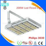 60 à luz de inundação elevada do diodo emissor de luz do lúmen 350W com 85-265V entraram para ao ar livre