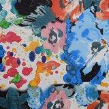 O plutônio sintético Textured pele impresso flor do saco do lagarto imita o couro