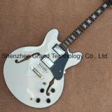 Des corps creux Jazz noir guitare électrique avec reliure noir (TJ-317)