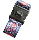 색깔 조합 또는 3개의 손가락 여행 수화물 벨트 결박 자물쇠