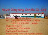 Chinesischer Klassiker-weiße Steuerknüppel-Kerze -- Gänseblümchen 86 131 2612 6515