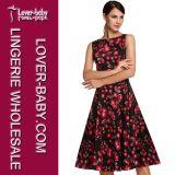 Frauen-Feiertags-reizvolles Kleid-Form-Kleid (L36110)