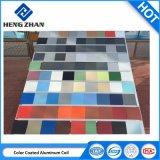 Il colore poco costoso di prezzi della fabbrica di Feve/HDP Cina ha ricoperto la bobina di alluminio per materiale da costruzione