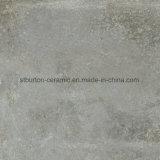 Mattonelle di pavimentazione di ceramica della porcellana del Matt del materiale da costruzione di pavimento di colore grigio rustico delle mattonelle 600X600mm St66568-6