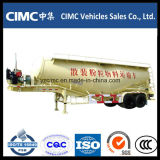 Cimc 3 Weichai 4102エンジンを搭載する車軸55m3セメントのBulkerのトレーラー