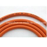 """De 5/16 """" Gasleiding van uitstekende kwaliteit van de Slang van het Propaan van de Duim Flexibele Rubber"""