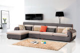現代居間の家具ファブリックコーナーのソファーセット