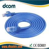 UTP Cat5e patch cord cabo LAN com conector RJ45