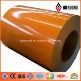 Fait dans la couleur d'utilisation différente la plus populaire de la Chine a enduit la bobine en aluminium (AE-107)