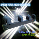 4*10W White LED Beam Moving Head Bar Light