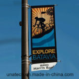 Rua Pólo do metal que anuncia o carrinho da bandeira (BS53)