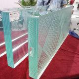 vidro laminado Tempered desobstruído e colorido de 6.38-42.3mm