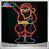LED Christmas 2D Hanging Papai Noel Motif Light