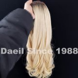 Peluca de cabello chino Long Remy