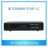 黒いカラーZgemma星LC DVB-Cデジタルの受信機ケーブル・テレビボックス