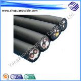 방수 Rubber Insulation 및 Sheath Electric Cable