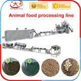 Machine chaude d'extrudeuse d'aliment pour animaux familiers de vente