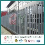 Galvanisierter Palisade, der Stahlpalisade-Zaun-direkte Fabrik einzäunt