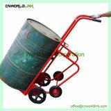 4 roues chariot métallique Drum Dolly Panier