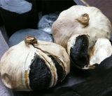 Ensemble de l'ail noir noir fermenté à l'ail chinois