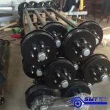 Hydraulische Tippende Aanhangwagens Achter elkaar met Betere Kwaliteit