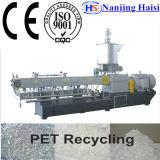 粒状になる不用なプラスチック薄片放出機械をリサイクルするか、またはラインにペレタイジングを施す