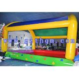 Piscina inflável para o parque de diversões infantil exterior